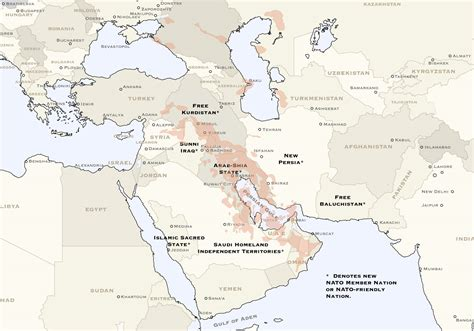 middle east map redrawn no more war