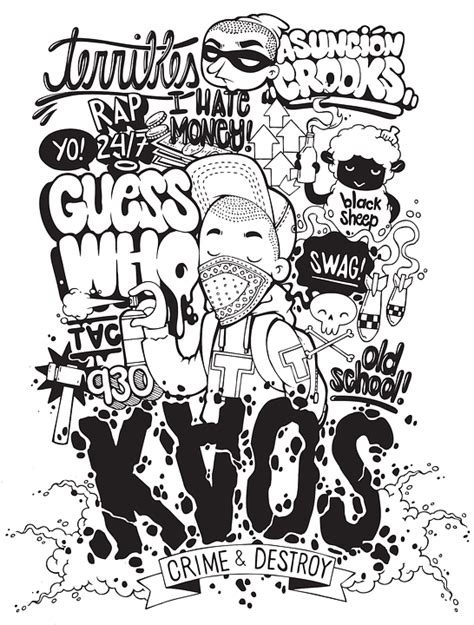 Kaos Amazing Graphic 20 free vector graphic typography illustration chaos