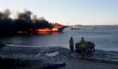 casino boats in south florida here s the video of casino boat shuttle that caught fire
