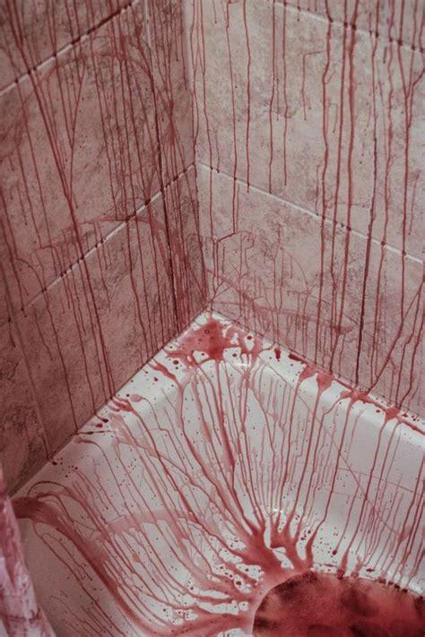bathtub murders murder scenes halloween bathroom decorations and