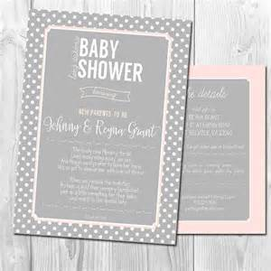 distance baby shower invitation