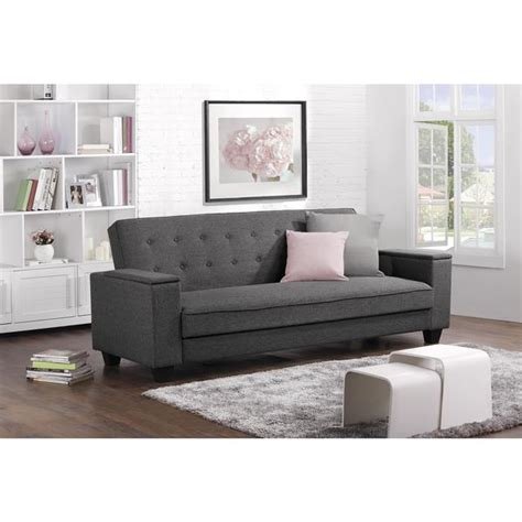 Grey Futons by Dhp Union Grey Laptop Tray Futon