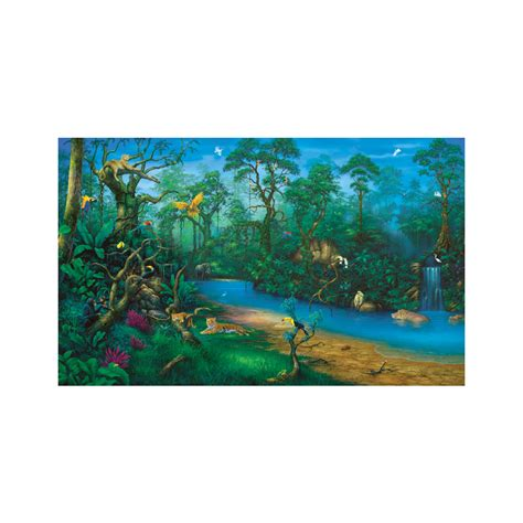 jungle dreams wall mural shop environmental graphics jungle dreams wall mural at