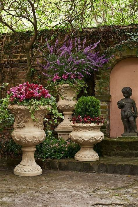 Ideas For Garden Pots And Planters by Patio Planter Ideas Home