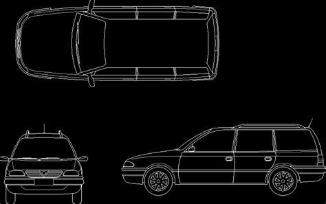 astra car dwg block  autocad designs cad