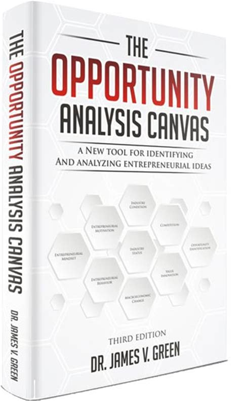 the opportunity analysis canvas for student entrepreneurs books the opportunity analysis canvas by venture artisans