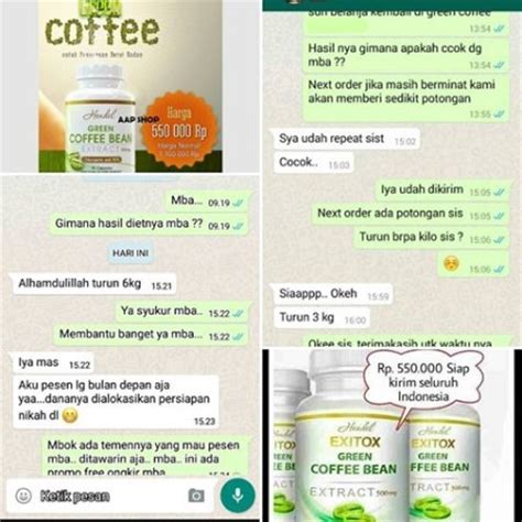 Dijamin Hendel Exitox Greenco Green Coffee Bean 30 Kapsul exitox green coffee bean extract 500mg original 100