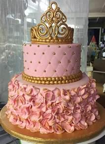 25 ideas crown cake baby birthday cake princess cakes