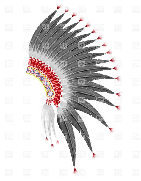 mohawk outline designs mohawk hat of the american indians objects download