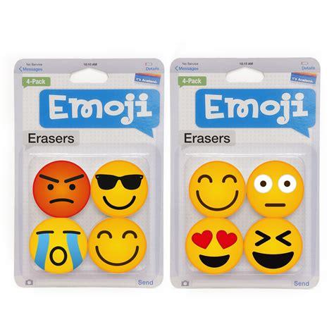 emoji erasers 4 pack emoji eraser shop your way online shopping
