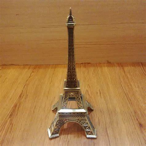 Hiasan Eiffel Acrylic pajangan menara eiffel ukuran besar 25 cm elevenia