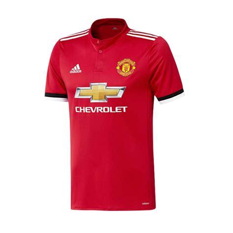 manchester united 17 18 home kit adizero kitroom
