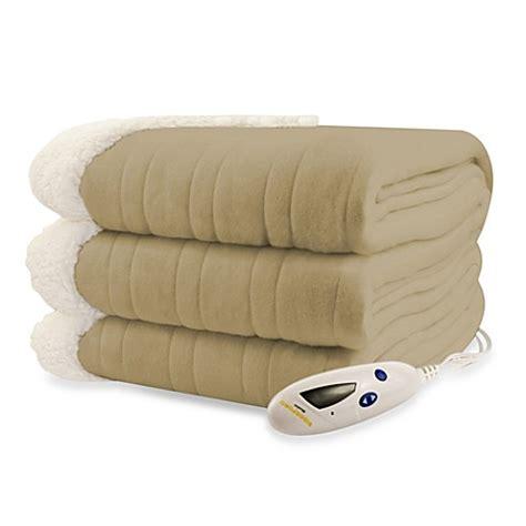 biddeford comfort knit heated blanket buy biddeford blankets 174 comfort knit sherpa electric