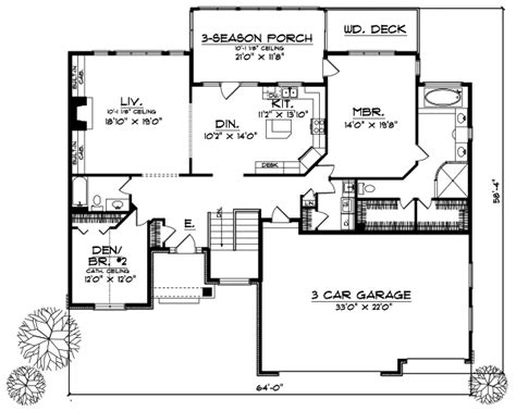 Traditional Plan 3 065 Square 4 Bedrooms 3 Traditional Style House Plans 2909 Square Foot Home 1