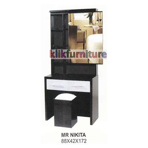 Meja Rias Bigland harga meja rias kayu warna hitam cms distributor
