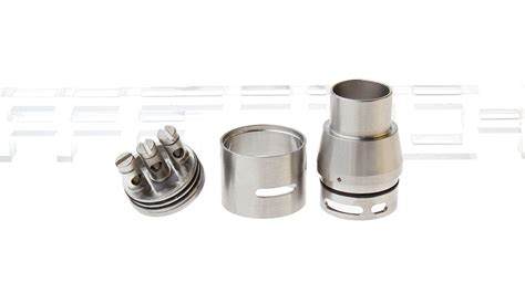 Rda Doge V2 22mm Harga 8 09 doge v2 styled rda rebuildable atomizer stainless steel 22mm dia at fasttech