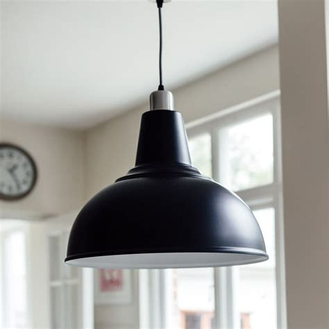 large kitchen pendant light black grace