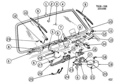 windshield wiper parts diagram geo g10 engine geo free engine image for user manual