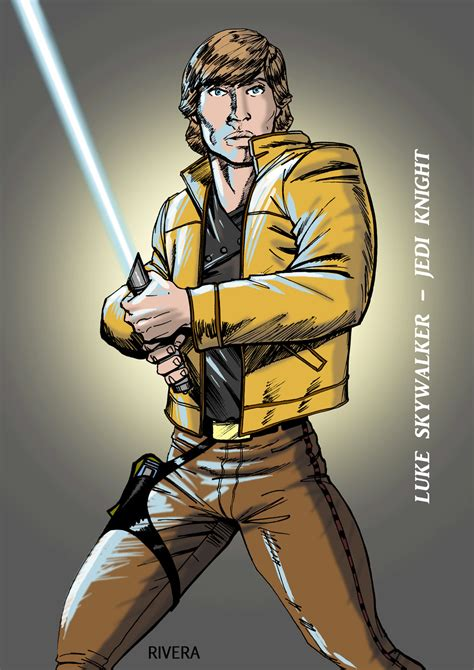 len jedi luke skywalker jedi wars by lenlenlen1 on
