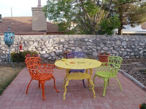Outdoor Patio Furniture Paint Your Fresh Patio Furniture