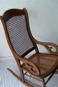 Natural Rocking Chair Beautiful Antique Rocking Chair With Cane Back And Seat