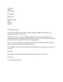 cover letter exle doc the best letter sle