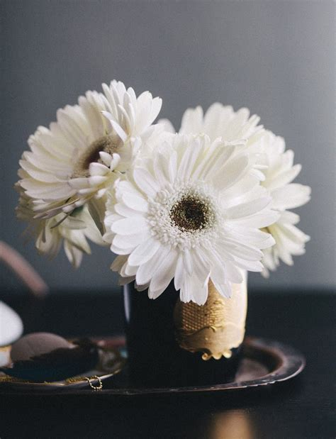 How To Arrange Gerbera Daisies In A Vase by 3 Ways To Arrange Supermarket Flowers A Cup Of Jo