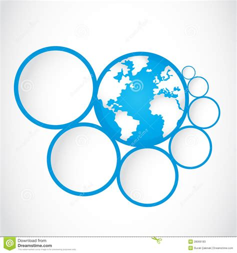 abstract icon stock image image 35579161 abstract globe symbol with option circles stock photos