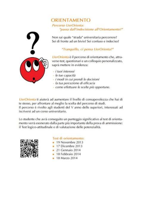 test di orientamento università test di orientamento all universit 224 europea di roma