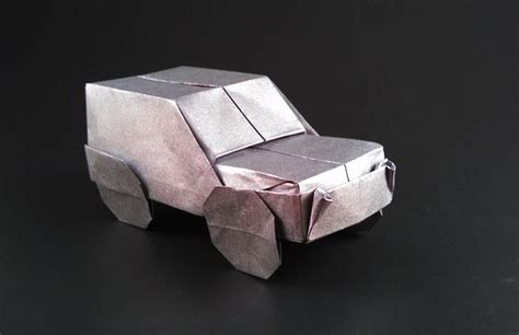 Make A Paper Car - origami cars gilad s origami page