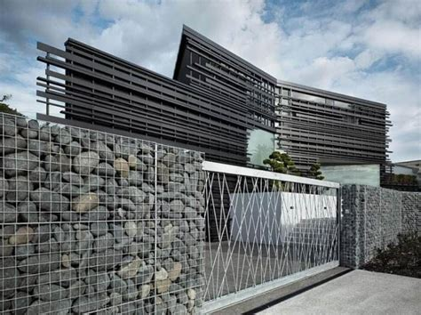 modern fence interesting modern outdoor fence ideas architectural and