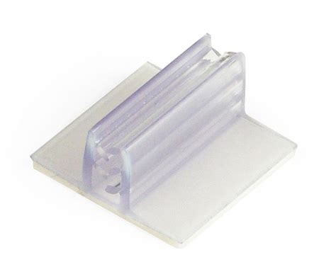 Dijamin Clear St Hanging Tags retail label holder clear plastic price displays