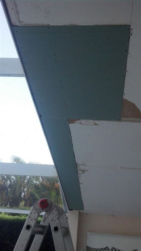 X Pole Ceiling Damage by Ceiling Damage From Roof Leak Brevard County Fl