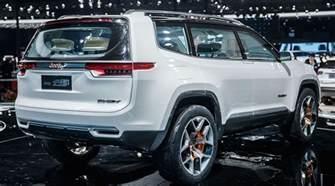 Jeep Wagoneer Concept 2018 Jeep Wagoneer Yuntu Concept Price Photo Specs