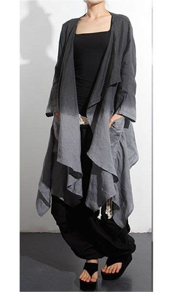 J12087 3 In 1 Set Dress linen dress and jacket set two in black and gray