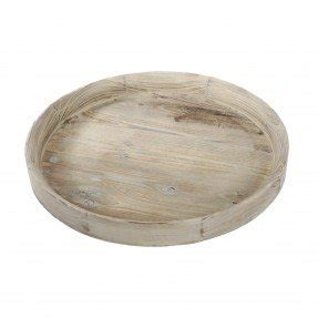 Round Table Dining Room Furniture Round Wooden Tray Foter