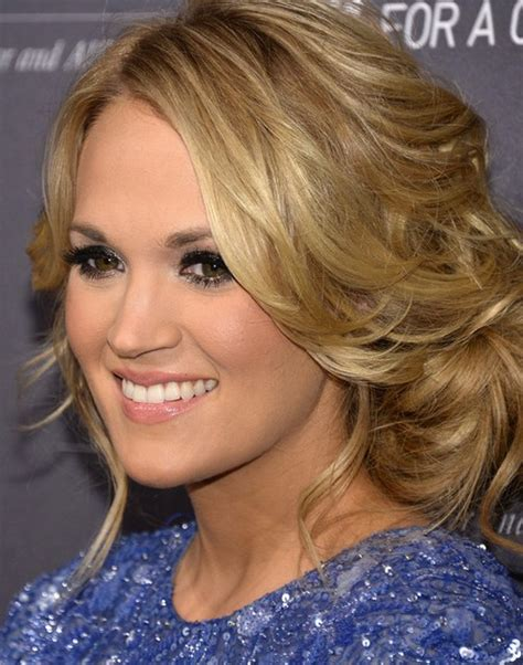 Carrie Underwood Updo Hairstyles by Carrie Underwood Hairstyle Updo Pretty Designs