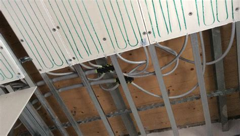 impianto radiante a soffitto impianto riscaldamento soffitto casamia idea di immagine