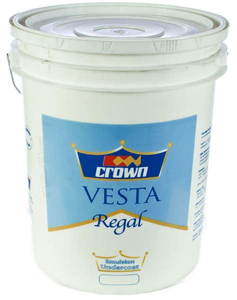 crown permacote vesta regal emulsion undercoat crown paints kenya ltd