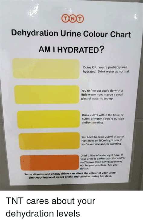 dehydration urine ton t dehydration urine colour chart ami hydrated doing