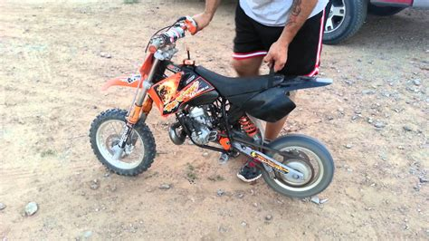 Ktm Sxr 50 Pro Junior 2004 Ktm 50 Sx Pro Junior Lc Pics Specs And Information
