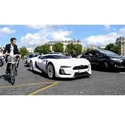 Citro&235n GT And Survolt Cruising In Paris  YouTube
