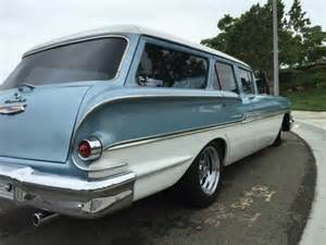 58 chevy brookwood wagon rod classic daily driver for