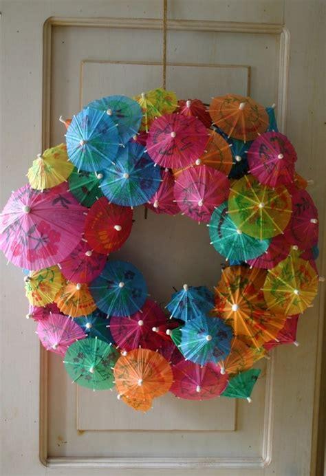 beautify  front door  lovely handmade summer wreath