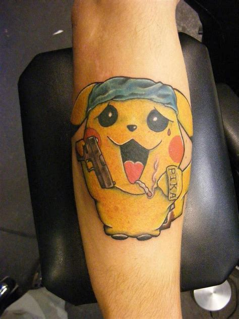 pikachu represent tattoo pictures at checkoutmyink com