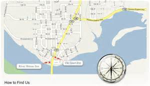 map florence oregon how to find us town inn
