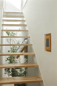 Simple Stairs Design For Small House Inside Out House Design By Takeshi Hosaka Architects Architecture Interior Design Ideas And