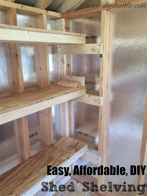 How To Build Shelves In A Shed by 1000 Ideas About Storage Shed Organization On