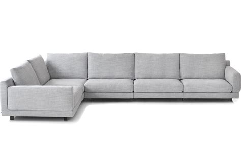 standard sofa depth elle sectional sofa hivemodern com