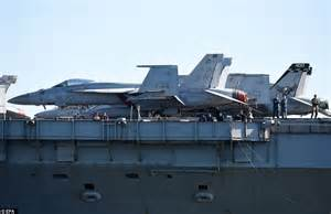 Postage St Planes 1140 A 6 Intruder Navy uss george washington docks in brisbane with 6000 sailors daily mail